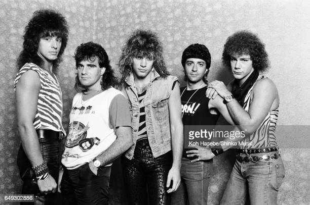 Photographing Bon Jovi in a hotel room August 1984
