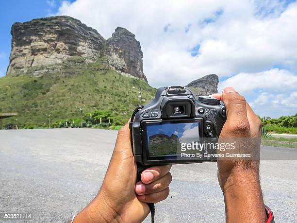 Photographing Mountain
