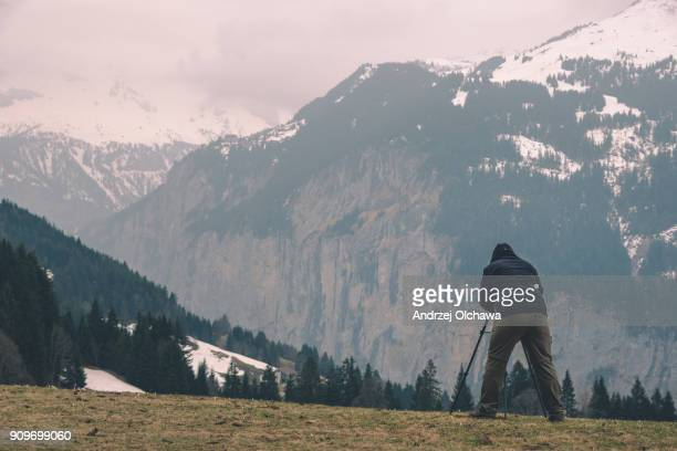 Photographing Swiss Alps
