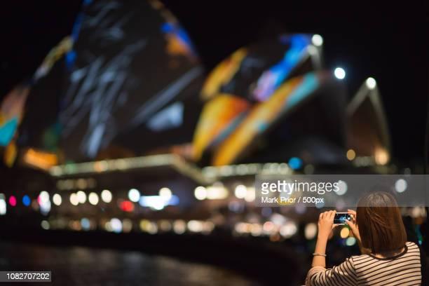 Photographing VIVID Sydney