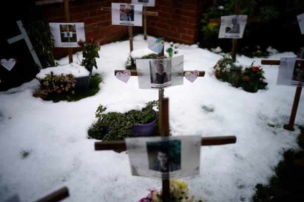 GBR: Memorial Garden For Covid-19 Victims In Burton-On-Trent