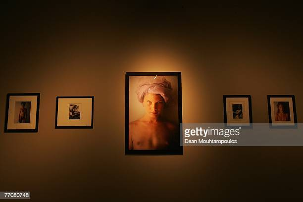 Photographs by David Hamilton are pictured as part of the 2007 Lyon Biennial at the La Sucriere on September 27 2007 in Lyon France The Lyon Biennial...