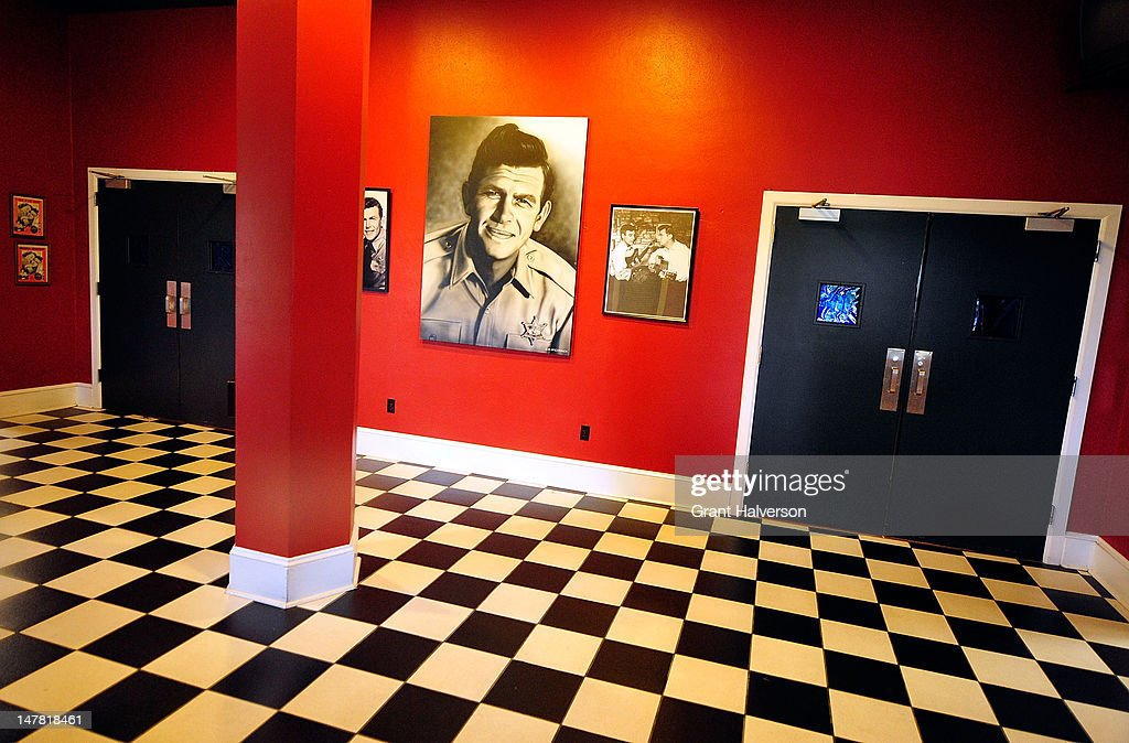 Andy Griffith Remembered In Mount Airy, North Carolina : News Photo