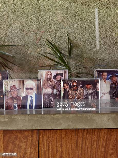 Photographs of billionaire James Goldstein are photographed for Madame Figaro on August 10 2010 at his Sheats Goldstein home designed by John Lautner...