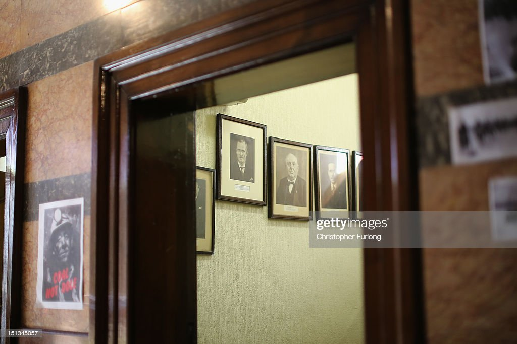 Photographs of past presidents adorn the interior of the council chamber at the headquarters of the : council doors - pezcame.com
