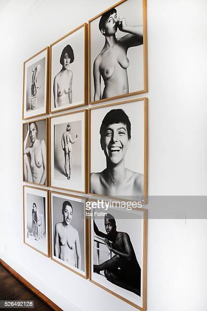 Photographs of Stefan Heinrichs presented by 'Der Berliner Fotografie Salon Edition 1' on April 29 2016 in Berlin Germany