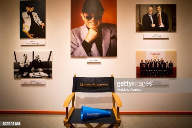 Photographs of the businessman Masaya Nakamura the founder of video game company Bandai Namco and known as the 'father' of the video game 'PacMan' is...