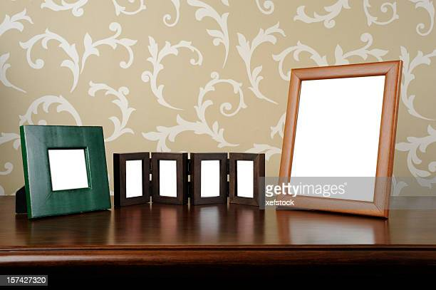 Photographs of the family