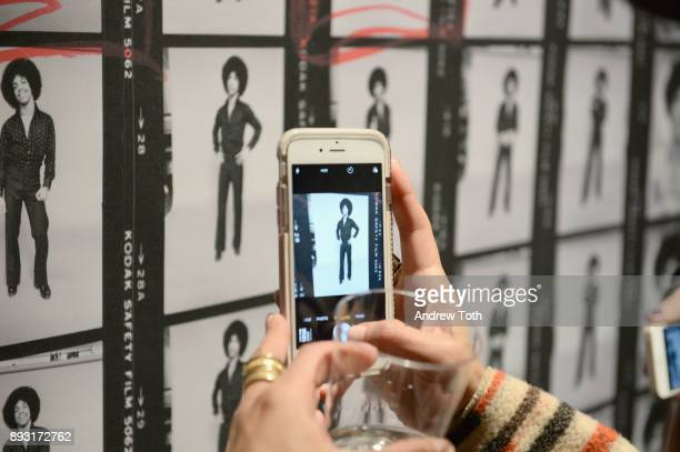 Photographs on display at Robert Whitman Presents Prince 'Pre Fame' Private Viewing Event Exclusively On Vero on December 14 2017 in New York City
