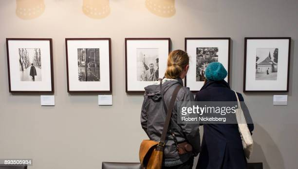 Photographs taken by Henri CartierBresson 19082004 are on display for auction December 10 2017 at Phillips in New York City The 1961 photograph taken...