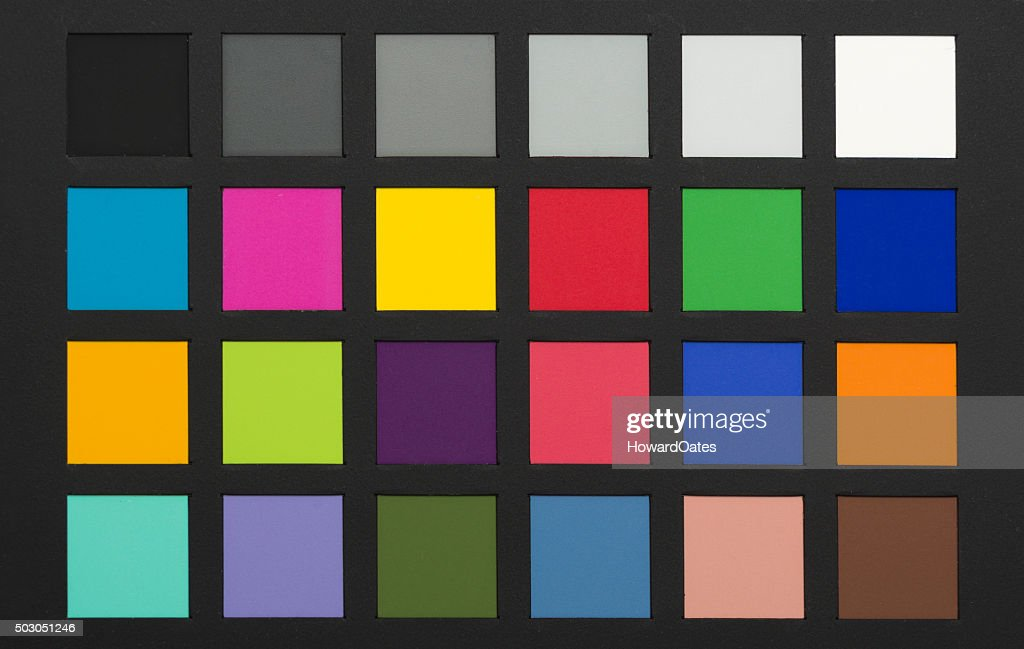Photography Colour Chart Stock Photo Getty Images