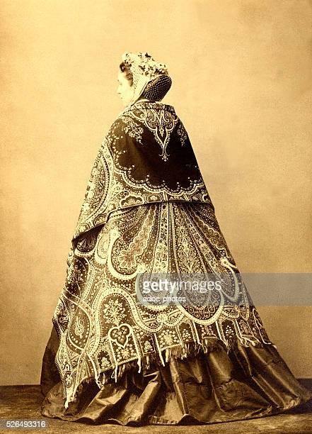 Photography of a dress ca 1870