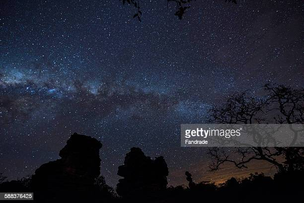 Photography Starry sky, stars, galaxies