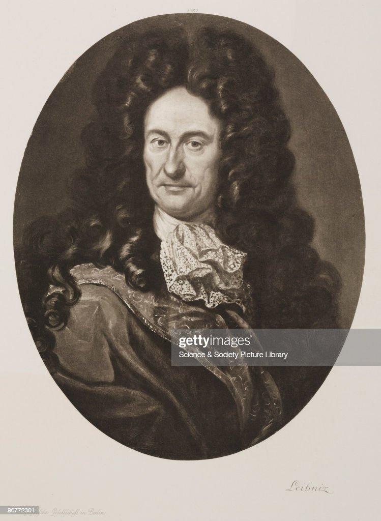 Gottfried Wilhelm Leibniz, German mathematician and philosopher, c 1700. : News Photo