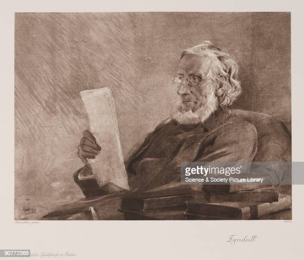 Photogravure after an original painting by Hamilton of the Irish physicist John Tyndall c 1890s In the 1850s Tyndall began his pioneering studies on...
