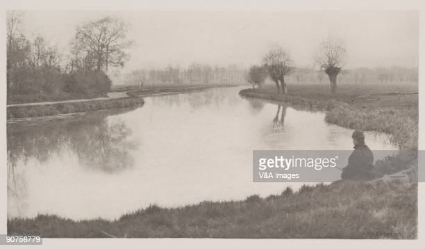 'UNITED KINGDOM NOVEMBER 29 Photogravure of a photograph by Peter Henry Emerson from 'The Compleat Angler' Volume 1 '