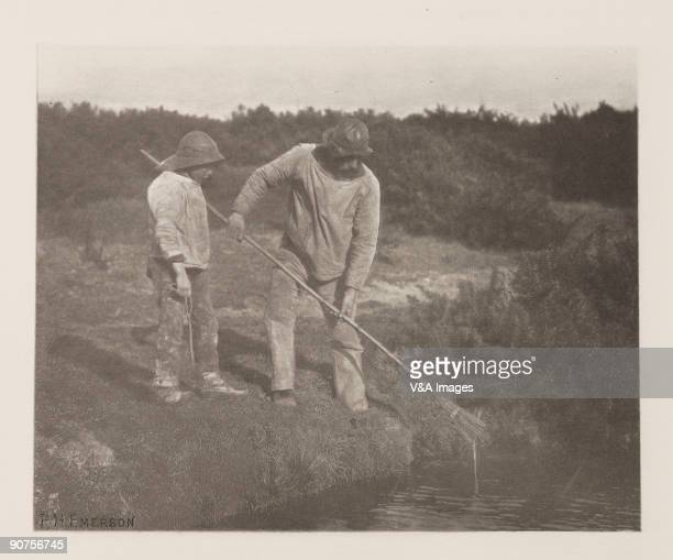 Photogravure Photograph by Peter Henry Emerson An illustration from 'Pictures of East Anglian Life'