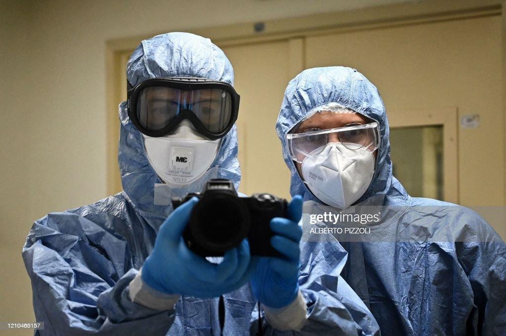 ITALY-VIRUS-HEALTH-MEDIA : News Photo
