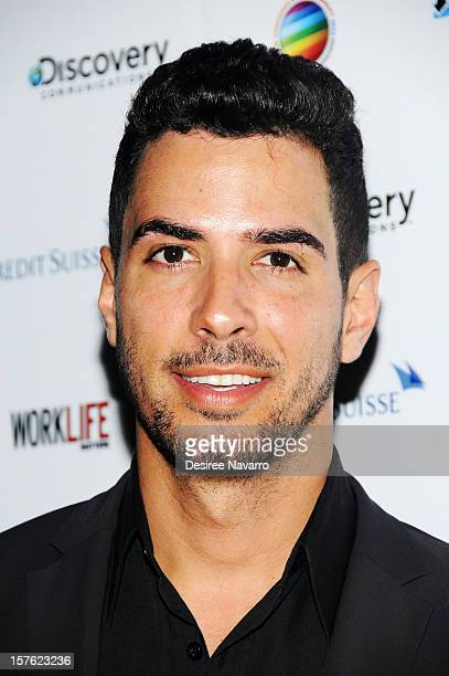 Photojournalist Javier Gomez attends The 10th Annual Work Life Matters Gala at Club 101 on December 4 2012 in New York City