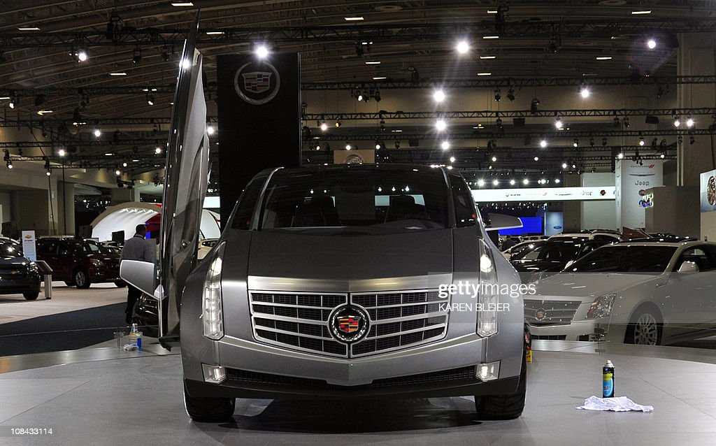 The Cadillac ULC On Display January Pictures Getty Images - Car show display flooring