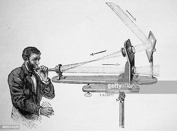 Photophone by Alexander Graham Bell 1882 Private Collection Artist Anonymous