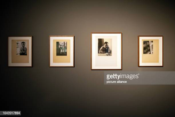 Photos from the exhibition 'Lore Krueger A Suitcase Full of Pictures' hang at the Amerika Haus of C/OBerlin in BerlinGermany 22 January 2015...