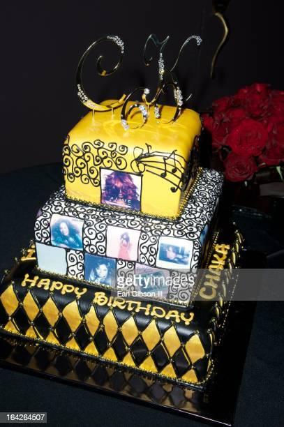 Photos Of Chaka Khan 60th Birthday Cake Taken At Yamashiro Restaurant On March 21 2013 In