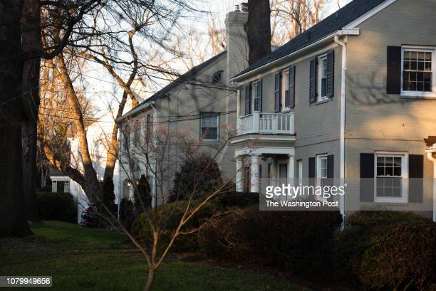 Photos of the Hamlet in Chevy Chase Maryland for a Where We Live feature A row of house is pictured on Kerry Ln The Chevy Chase Land Co developed the...