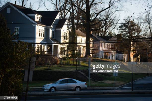 Photos of the Hamlet in Chevy Chase Maryland for a Where We Live feature Traffic passes on East West Highway which runs through a portion of the...
