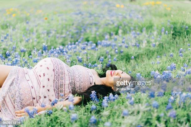 Photoshoot With Bluebonnets