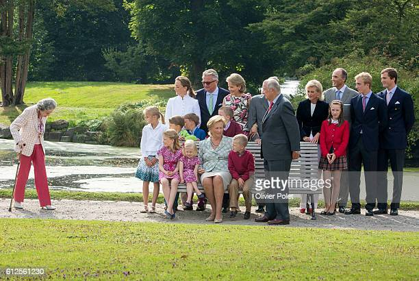photoshoot with the Belgian Royal Family at the Castle of LaekenLaken