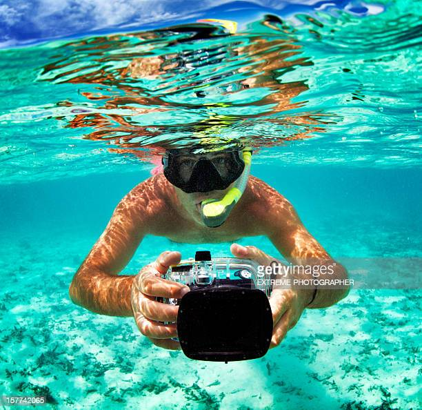 Photoshooting underwater