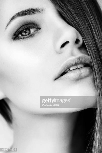 Photoshot of young beautiful woman