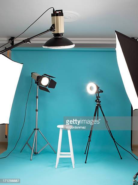photostudio - filmen stockfoto's en -beelden