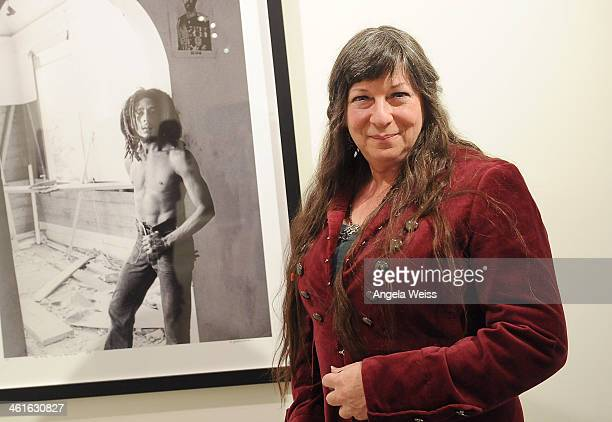 Phototgrapher Kim GottliebWalker attends Bob Marley I And Eye The Photos Of Kim GottliebWalker19751976 Private Preview Reception at KM Fine Arts LA...