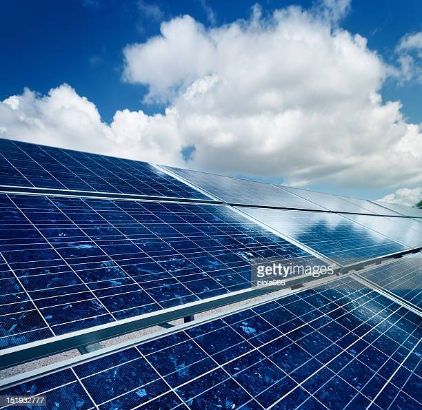 Photovoltaic Panel Array Renewable Energy