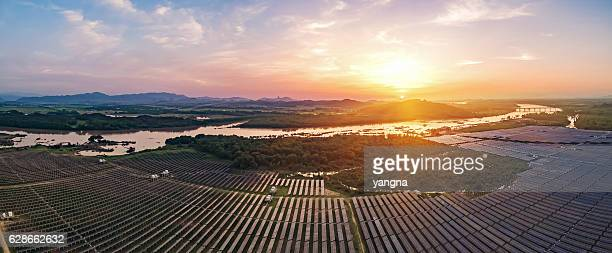 Planta de energía fotovoltaica