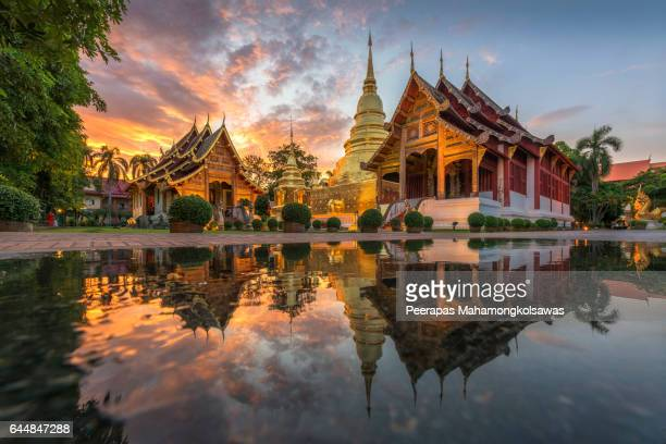 Phra Singh Waramahavihan Temple of Thailand