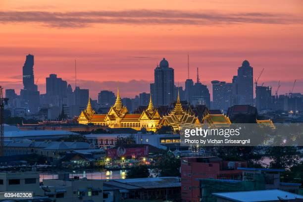 ,Phra Thinang Chakri Maha Prasat throne hall,Bangkok, Thailand