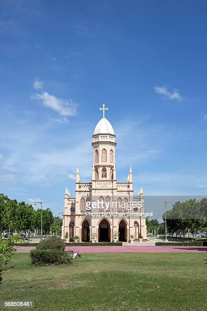 phrawisutthiwong church pathum thani thailand - パトゥムターニー県 ストックフォトと画像