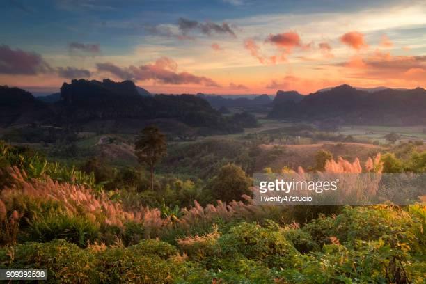 Phu Pa Por hill, Loei province, Thailand