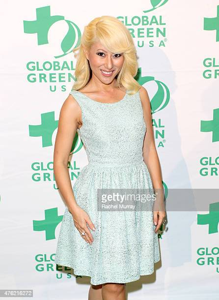 Phu Styles attends the Global Green USA 19th Annual Millennium Awards on June 6 2015 in Century City California
