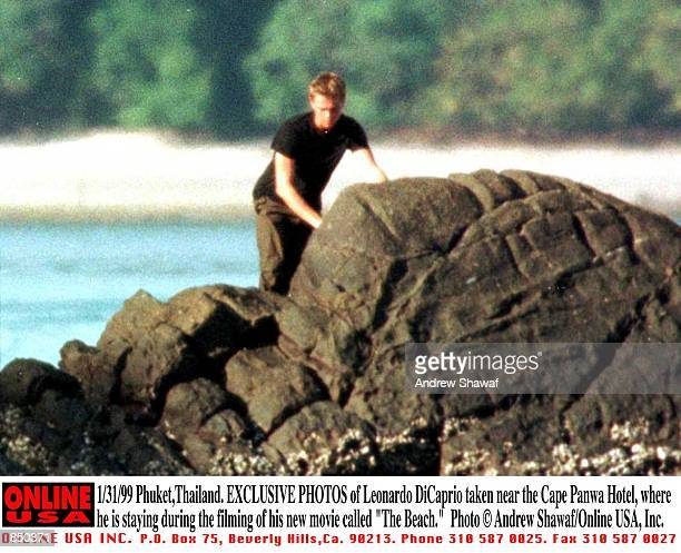 PhuketThailand EXCLUSIVE PHOTOS of Leonardo DiCaprio taken near the Cape Panwa Hotel where he is staying during the filming of his new movie called...