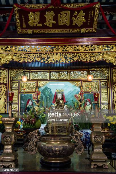 Phuoc Kien Assembly Hall Hoi An was founded in 1690 by Chinese immigrants from Fukien in Hoi An It contains Thien Hau goddess of the sea protector...