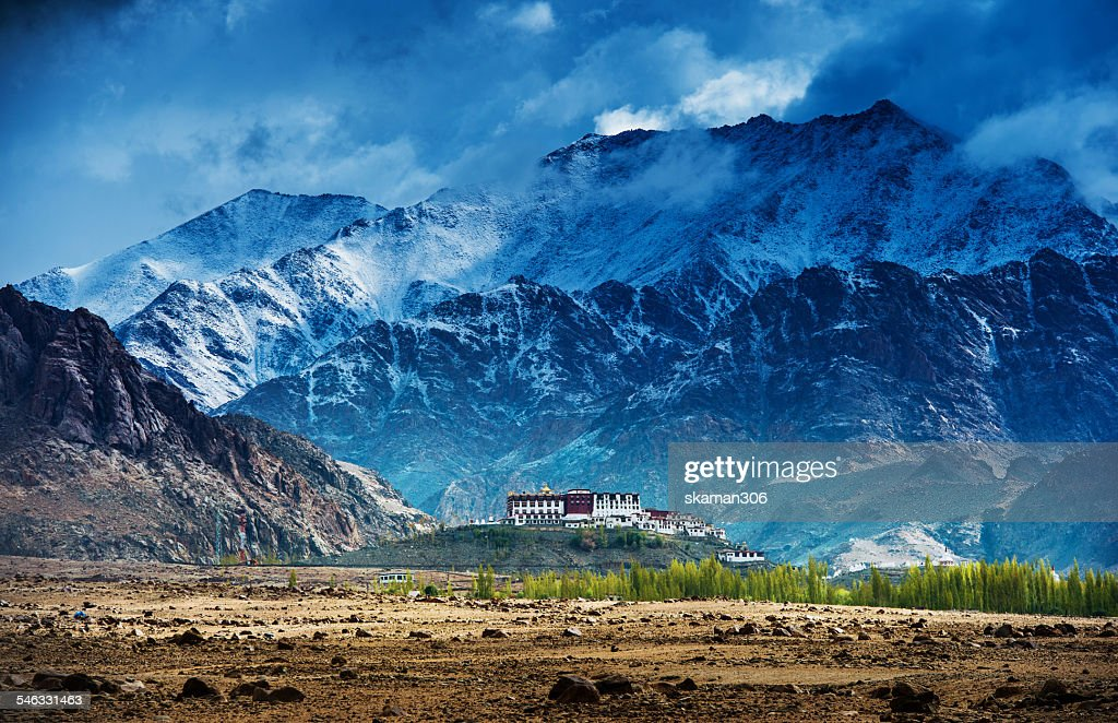 Phyang Monastery in Leh Ladakh : Stock Photo