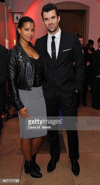 Phylicia Jackson and Steve Jones attend the Attitude Awards at Banqueting House on October 13 2014 in London England