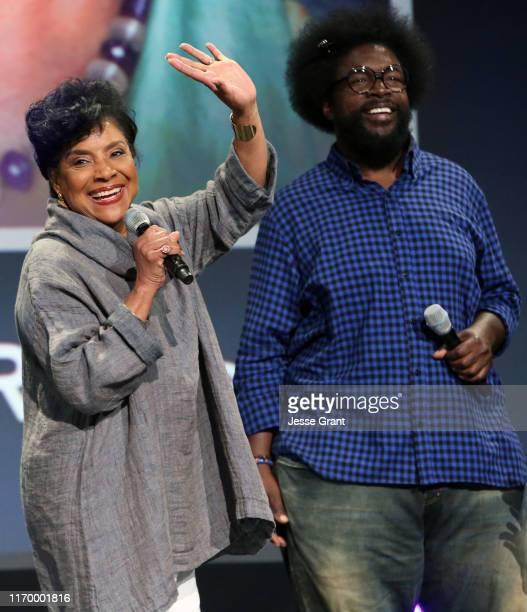 "Phylicia Rashad and Ahmir Khalib ""Questlove"" Thompson of 'Soul' took part today in the Walt Disney Studios presentation at Disney's D23 EXPO 2019 in..."