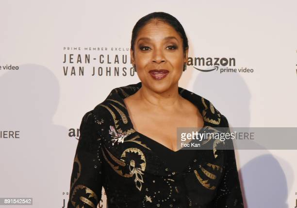 Phylicia Rashad attends the Amazon TV Serie 'Jean Claude Van Jonhson' Paris Premiere At Le Grand Rex on December 12 2017 in Paris France