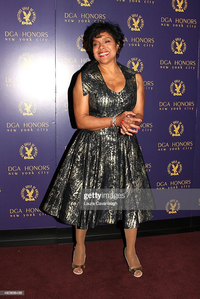 Phylicia Rashad attends the DGA Honors Gala 2015 on October 15, 2015 in New York City.