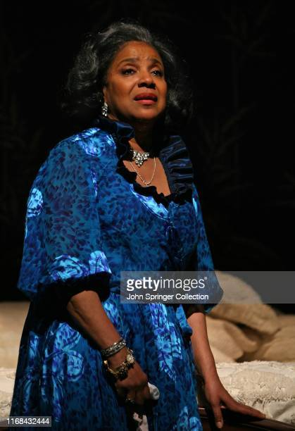 Phylicia Rashad in the 2008 Broadway revival of Tennessee Williams' Cat On A Hot Tin Roof at the Broadhurst Theater